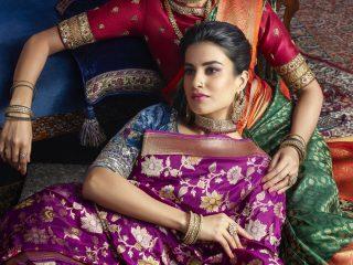Queen of sarees
